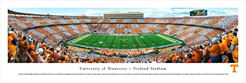 (Tennessee Football - 50 Yard - Blakeway Panoramas Unframed College Sports Posters )