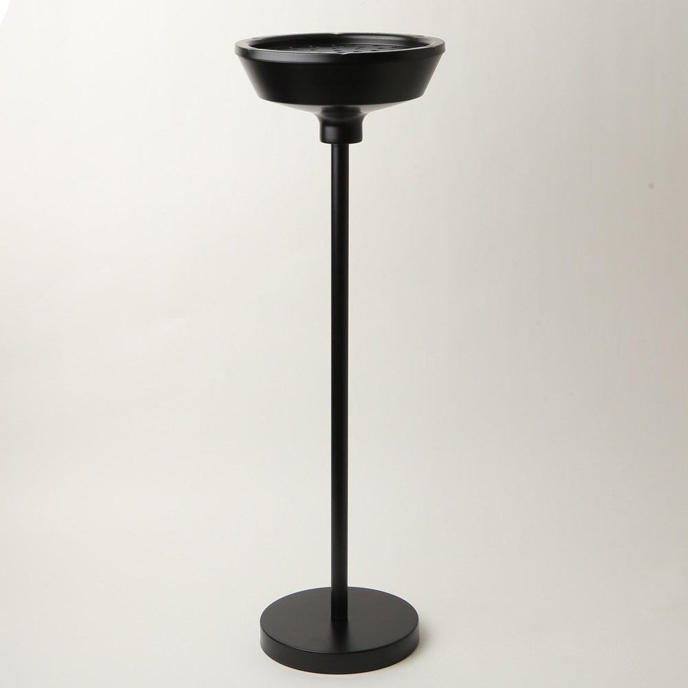 MERCURY マーキュリー STAND ASHTRAY スタンド アシュトレイ BLACK ブラック 大容量 灰皿 インテリア アメリカン 雑貨 B01N6PT3ADブラック