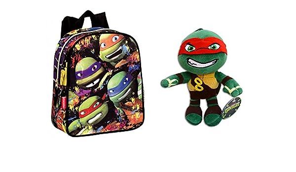 TMNT: Pack Mochila infantil Tortugas Ninja 52106 TURTLES ...