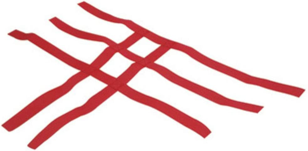 Comp Series Nerf Bars Replacement Webbing Red for Yamaha RAPTOR 660 2001-2005