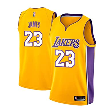 runvian Camiseta de Baloncesto para Hombre, NBA Lebron James # 23 ...