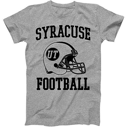 Vintage Football City Syracuse Shirt for State Utah with UT on Retro Helmet Style Grey Size XX-Large