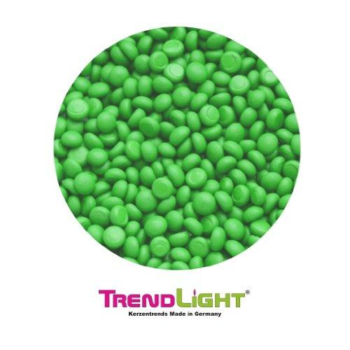 TrendLight 890032 - Colore per cera, sufficiente per 1 kg di cera, colore: Verde chiaro