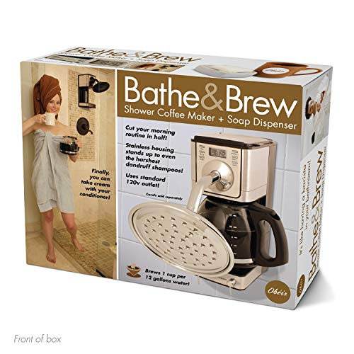 Bathe & Brew Joke Gift Box - Funny Novelty Gift Wrap