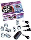 Gorilla Automotive 71923 Acorn Wheel Wheel Installation Kit (12mm x 1.25 Thread Size) - For 5 Lug Wheels