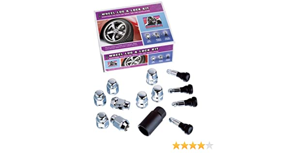 14mm x 2.00 Thread Size For 5 Lug Wheels Gorilla Automotive 91903 Acorn Bulge Wheel Installation Kit