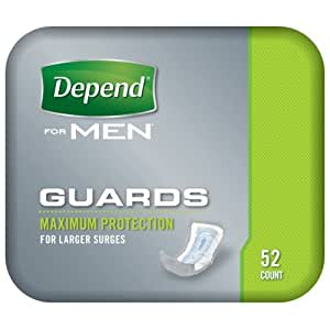Depend Guards for Men, Pack of 52 Pads