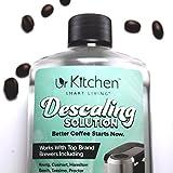 [BEST QUALITY] urKitchen Descaling Solution - Coffee Machine Descaler For Keurig Cusinart Hamilton Beach Tassimo Breville Mr. Coffee & More - Also Great Descaler For Espresso Machine - 100% SAFE