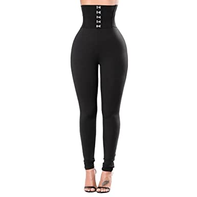 OHQ Pantalon De Yoga❤️Pantalon De Yoga à Taille Haute Hanches Longues pour Femmes  Leggings 1915cb45585