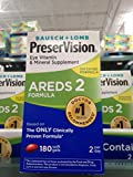 Bausch & Lomb preservision areds2 eye vitamin 180 ct (pack of 2)