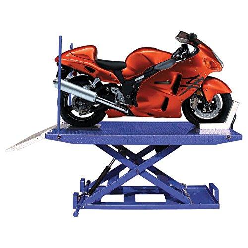 1,500 lb Capacity - Tuxedo Hydraulic Motorcycle Lift Table 88-1/2