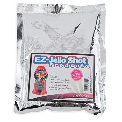 - EZ-Jello Shot Mix, 6.78 Oz - Bubble Gum