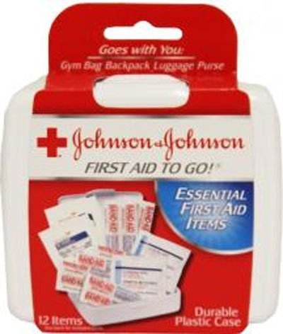 Johnson Mini First Aid - Johnson & Johnson First Aid To Go Mini Kit by Johnson & Johnson
