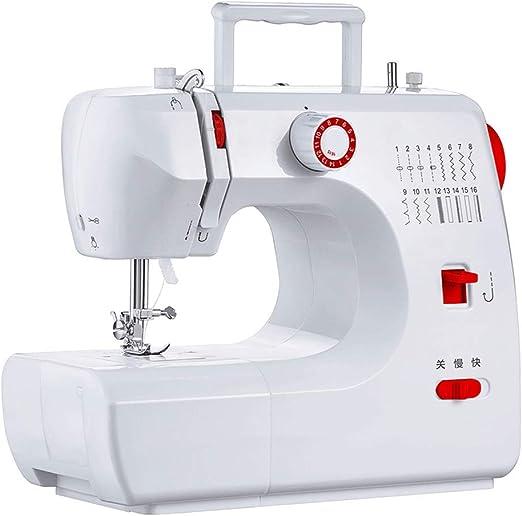 Maquina de coser eléctrica multifunción de Costura de Escritorio ...