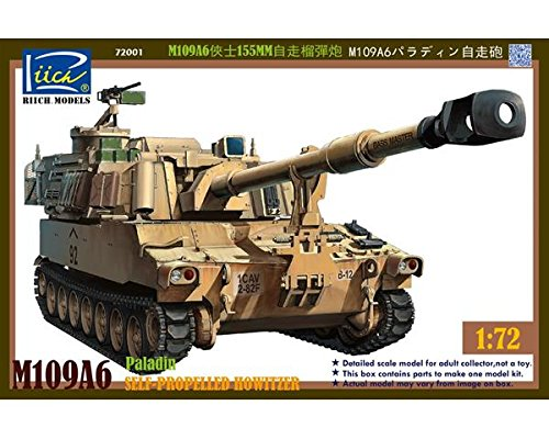 Riich.Models 1/72 M109A6 155mm Self-Propelled Howitzer RT -