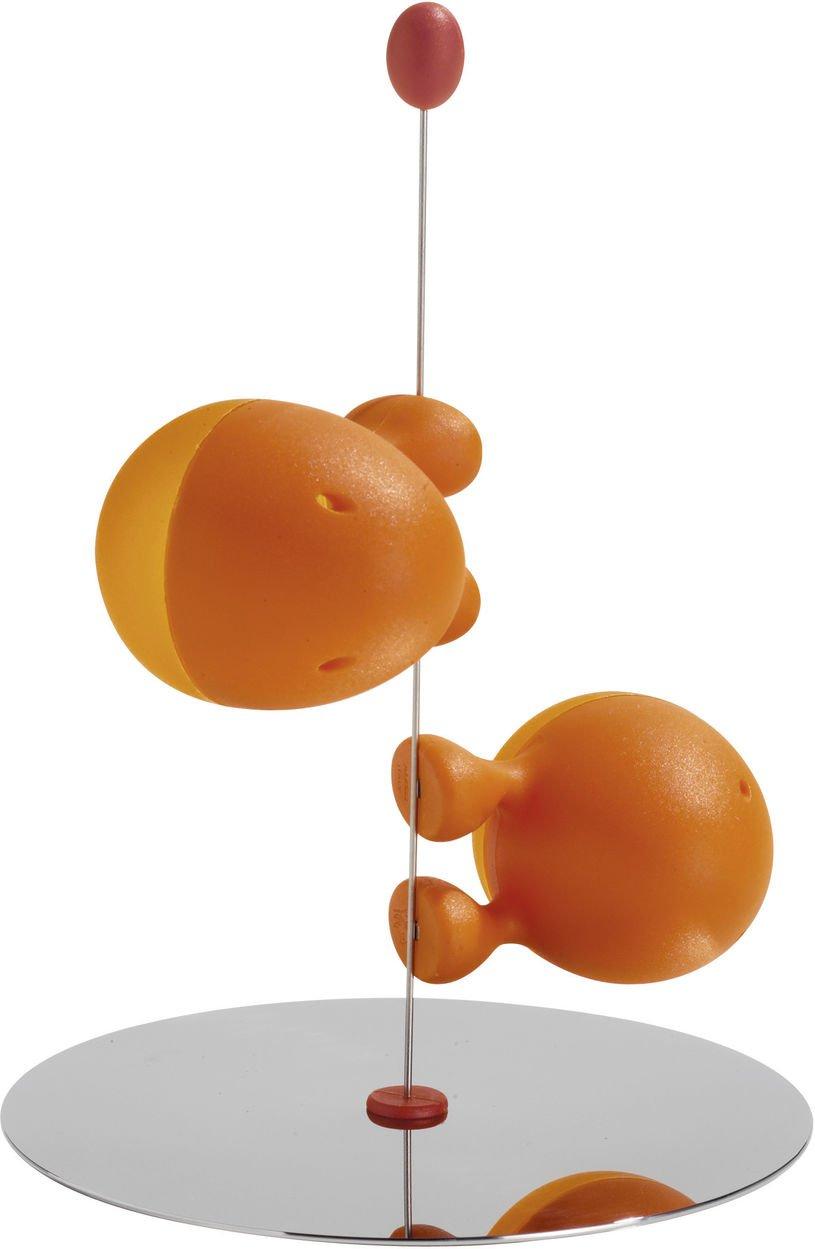 amazoncom a di alessi lilliput salt and pepper shaker orange  - amazoncom a di alessi lilliput salt and pepper shaker orange salt and peppershaker sets kitchen  dining
