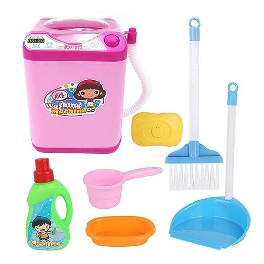 Tenlso Juego de Limpieza para el hogar, Mini Lavadora ...
