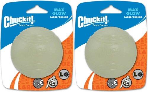 Chuckit! Max Glow Ball Large 2pk