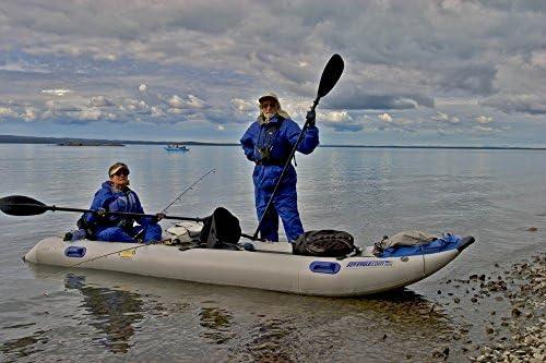 Amazon.com: Mar Eagle 435ps paddleski inflable/catamarán ...
