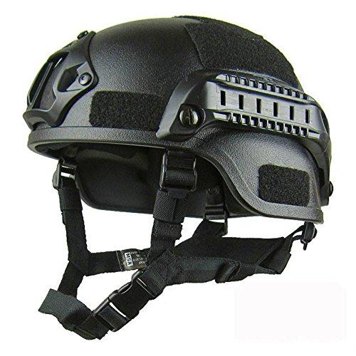 Joybuy al aire última intervensión equipo de protección CS casco táctico Sombreros de combate del ejército, Negro