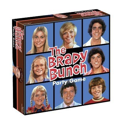 big g creative The Brady Bunch Party Game by big g creative