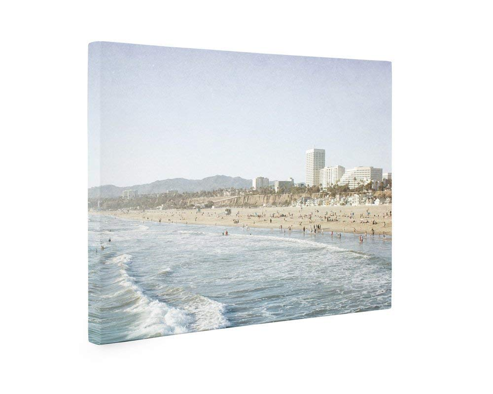 Large Format Print, Canvas or Unframed, Santa Monica Wall Art, California Coastal Beach Decor, 'Santa Monica Seaside'