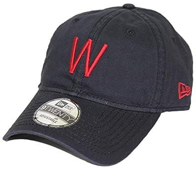Washington Senators New Era MLB 9Twenty Cooperstown Adjustable Navy Hat from New Era