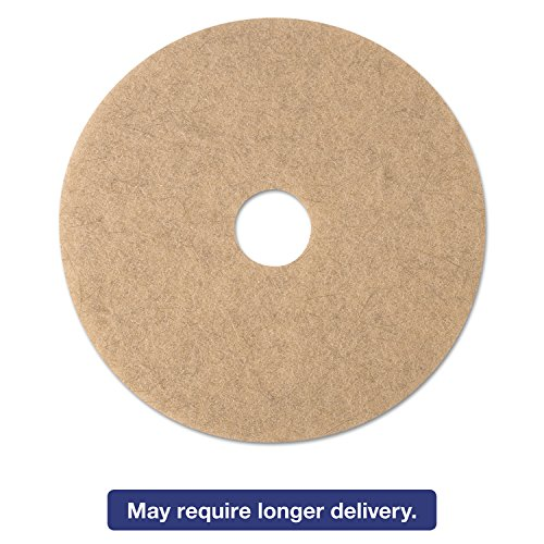 - 3M 19008 Ultra High-Speed Natural Blend Floor Burnishing Pads 3500, 20-Inch Dia, Tan, 5/CT
