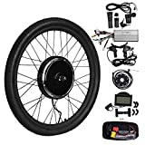 "Best Electric Bicycle Conversion Kits - TTLIFE 26"" 48V 1500W Front Wheel Powerful Brushless Review"