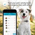 Findster Duo+ Pet Tracker Free of Monthly Fees - GPS Tracking Collar for Dogs and Cats & Pet Activity Monitor - Includes Care Membership 10