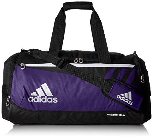 - adidas Team Issue Duffel Bag, Collegiate Purple, Medium