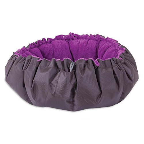 Jackson Galaxy Comfy Clamshell Bed, Medium
