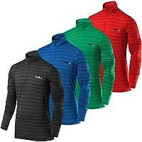 Men/'s TCA Infinity Half Zip Long Sleeve Running Jogging Winter Run Gym Sport Top