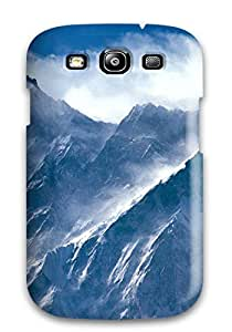 Wonderful Design Nice Icy Peaks Case Cover For Galaxy S3