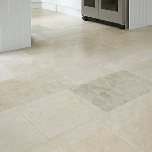 Black Diamond Stoneworks Limestone And Travertine Floor