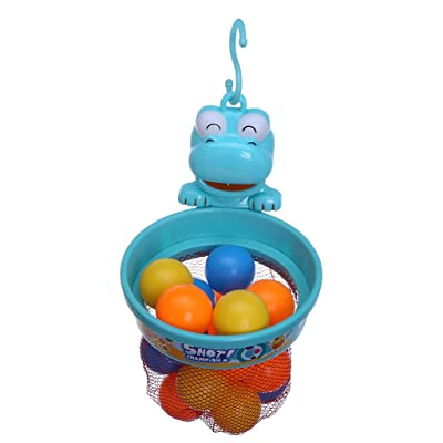 Fineday Bathroom/Indoor Toys Fun Basketball Basket Shooting Ball Children's Gift Set, Baby & Toddler Toys (AS Show), Shipping from The United States: Garden & Outdoor