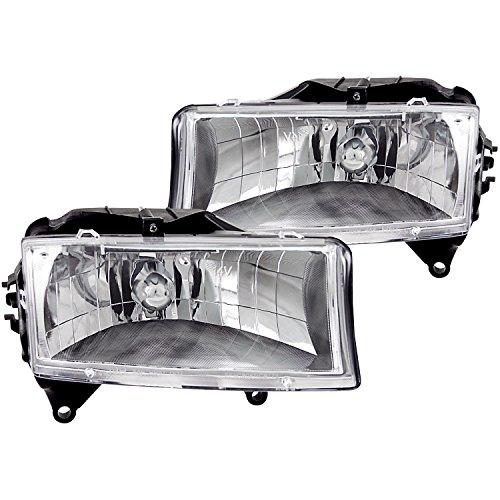 Anzo USA 111021 Dodge Dakota/Durango Crystal Chrome Headlight Assembly - (Sold in (03 Dodge Dakota Crystal)