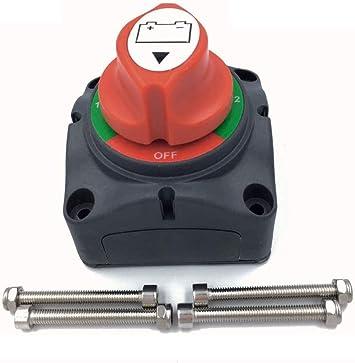 Interruttore staccabatteria per auto 12 Volt Interruttore staccabile Interruttore di spegnimento della batteria per auto