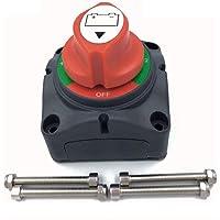 NSTART Batterijschakelaar, accu-scheidingsschakelaar, 1-2-Beide uit-schakelaar, marineblauw, batterijhoofdschakelaar…
