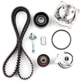 Scitoo Timing Belt Water Pump Gasket Tensioner Kit Fit Mazda Tribute Mercury Cougar Mystique Ford Contour Escape Focus 2.0L 16 Valve DOHC