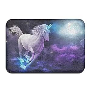 Flying Unicorn Inside Outside Doormat Non-slip Floor Area Rug 15.7inch*23.6inch