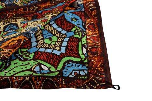 Sunshine Joy Grateful Dead 3d Psychedelic Bear Tapestry