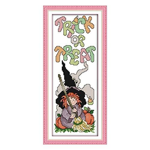 Package - Szs Cross Stitch Cartoon Happy Halloween