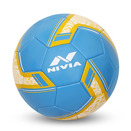 Nivia Spinner Machine Stitched Football - Argentina