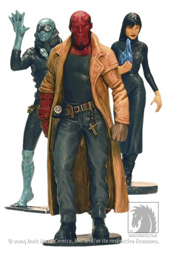 Diamond Comic Distributors Hellboy Movie PVC Set 1: Good Guys