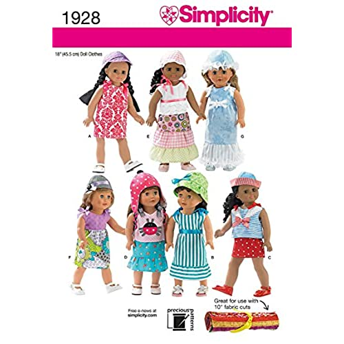 18 Inch Doll Patterns: Amazon.com