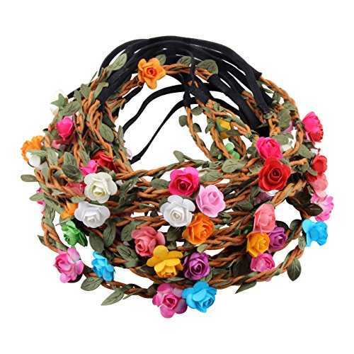 Fashion Bohemian Flower Garland Headbands