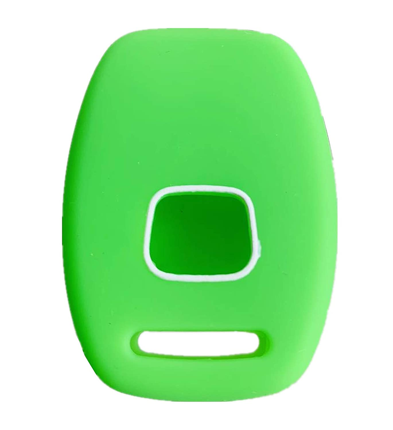 green Rpkey Silicone Keyless Entry Remote Control Key Fob Cover Case protector For Honda Accord Crosstour CR-V CR-Z Civic Fit Insight Odyssey Ridgeline N5F-S0084A OUCG8D-380H-A CWTWB1U545
