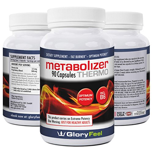 Gloryfeel METABOLISM BOOSTER Thermogenic Fat Burner Weight ...