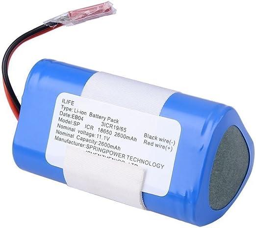 iLife Paquete de baterías Li-Ion V3s Pro V5s Pro Aspirador ...